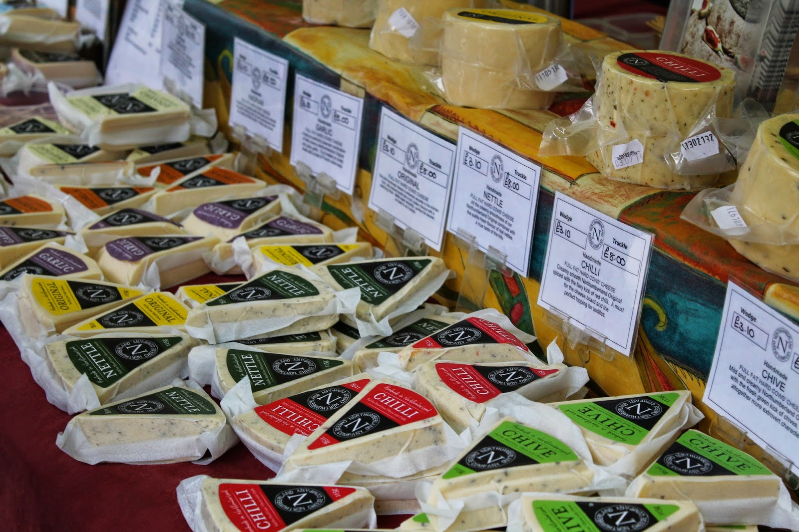 Bishop Auckland Food Festival 2014 - Cheese