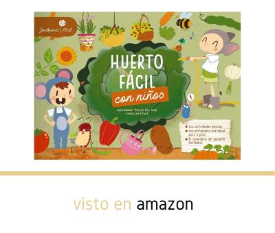 Libro Huerto fácil con niños en Amazon