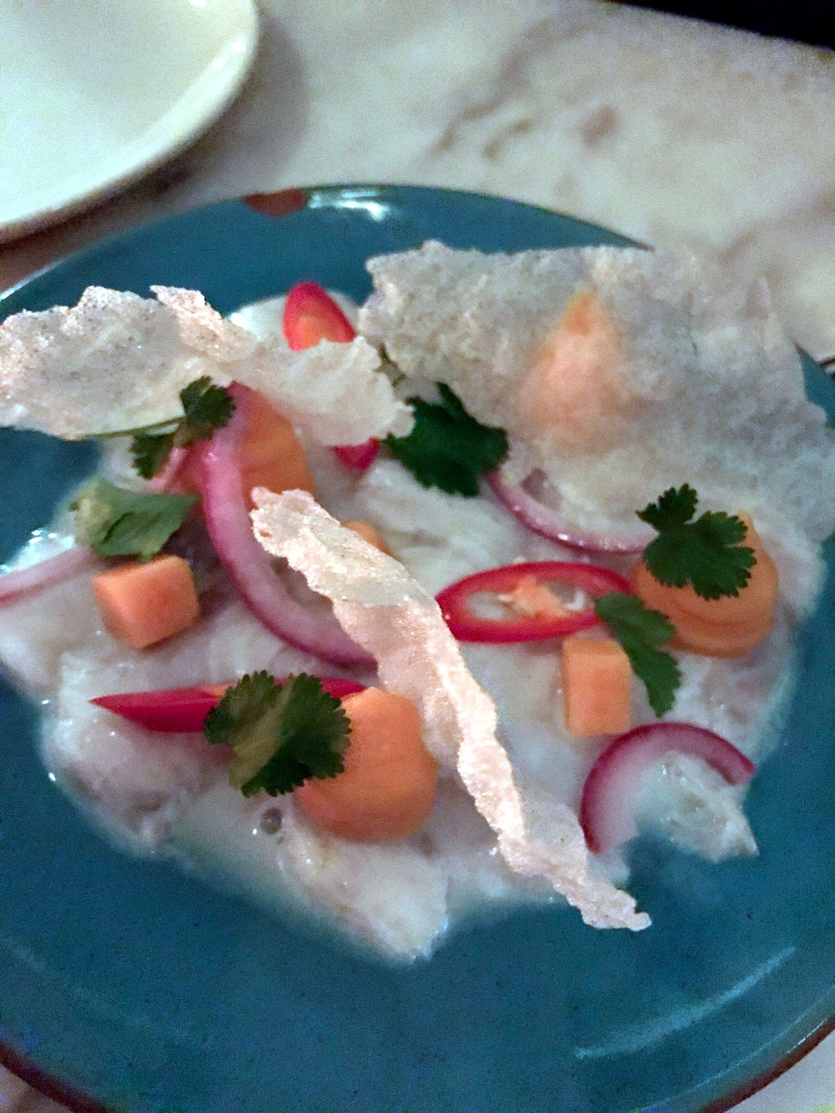 Stitch & Bear - Amsterdam - Philipino ceviche at Dum Dum Palace