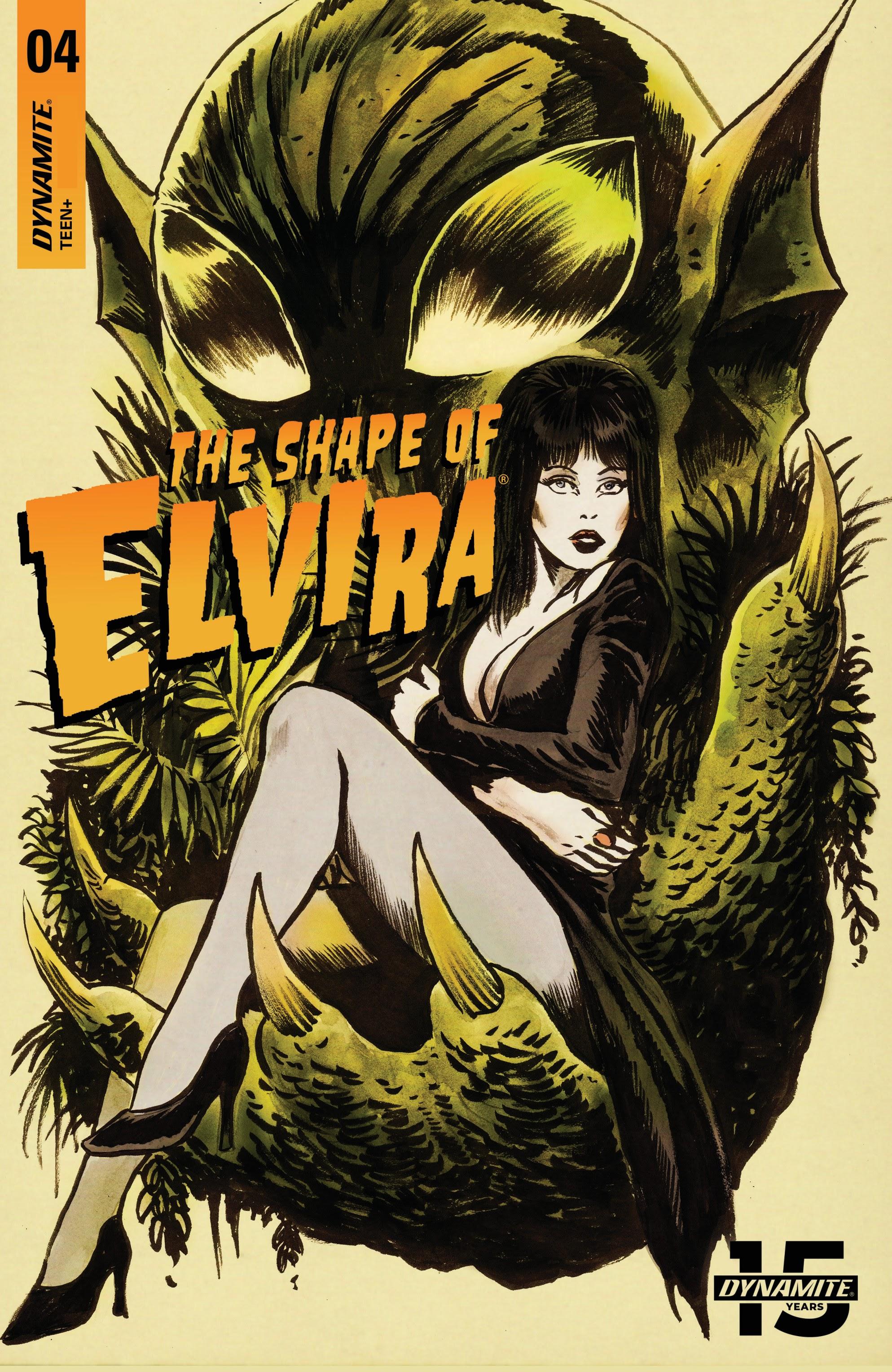 Elvira: The Shape of Elvira 4 Page 1