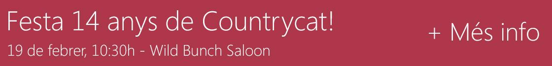 Festa de 14 anys de Countrycat!