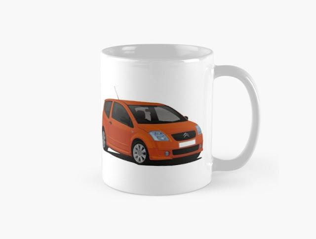 Citroën C2 VTR VTS coffee mug