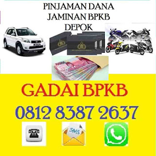 Gadai bpkb mobil depok 081283872637