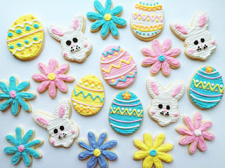 Easter Themed Sugar Cookies
