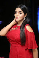 Poorna in Maroon Dress at Rakshasi movie Press meet Cute Pics ~  Exclusive 80.JPG