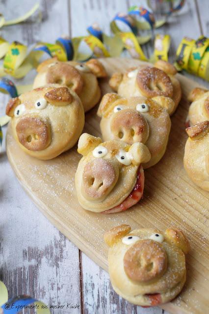 Experimente aus meiner Küche: Glücksschweinchen