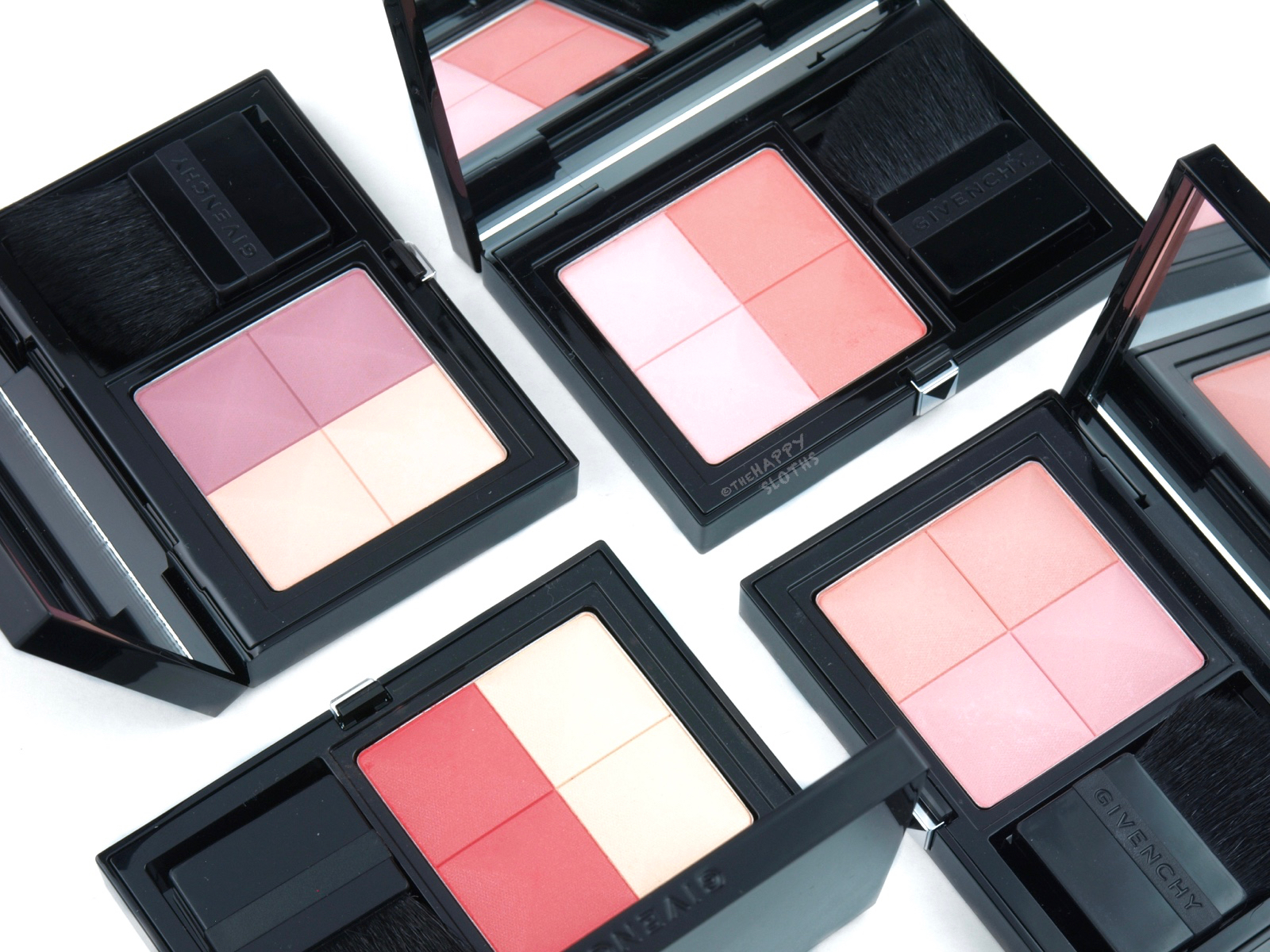 Givenchy Prisme Blush Highlight & Structure Powder Blush Duo: Review and Swatches