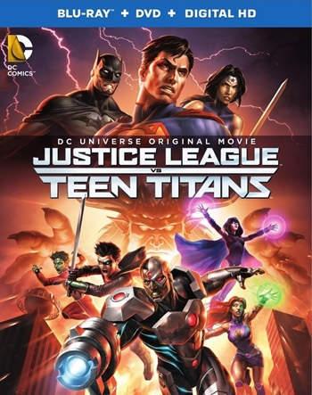 Justice League vs. Teen Titans (2016) HD 1080p Latino