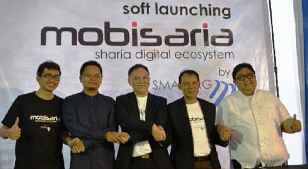 Mobisaria Aplikasi BMT Dilaunching Pertama Kali di Bandung