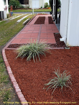 Creating a Stylish Golf Cart Path in Side Yard