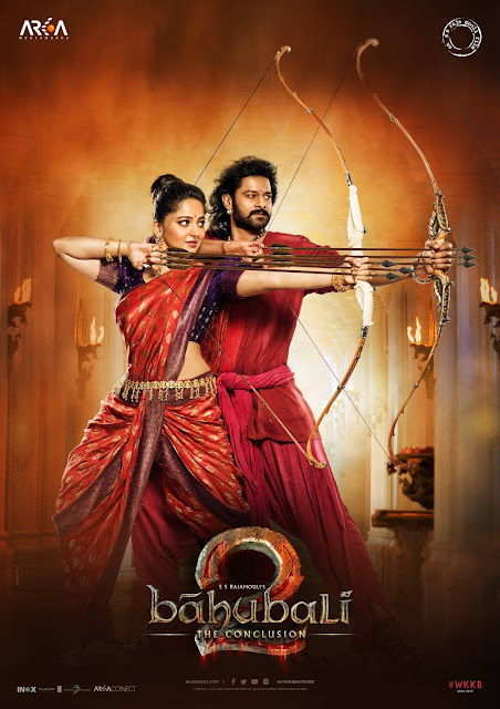 BAAHUBALI 2 Poster Released Amarendra Baahubali & Devasena!