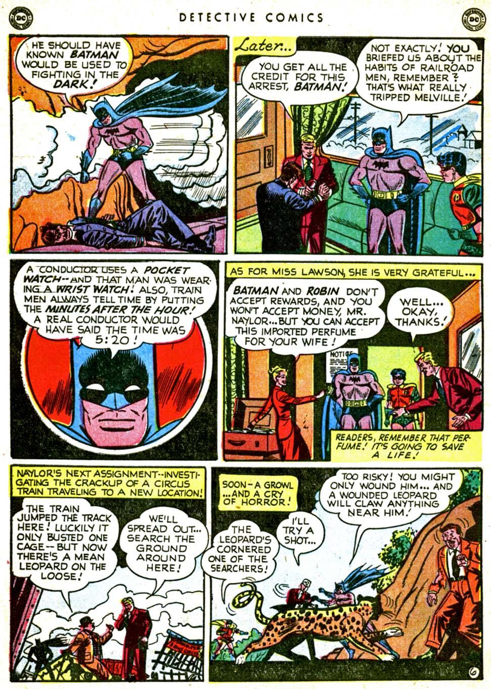 Read online Detective Comics (1937) comic -  Issue #162 - 8