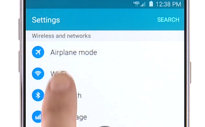How to Turn on Wifi Samsung Galaxy Note 5