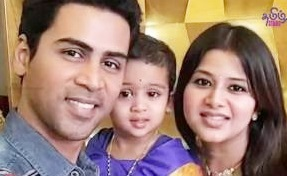 Singer Krish & Actress Sangeetha Family Photos