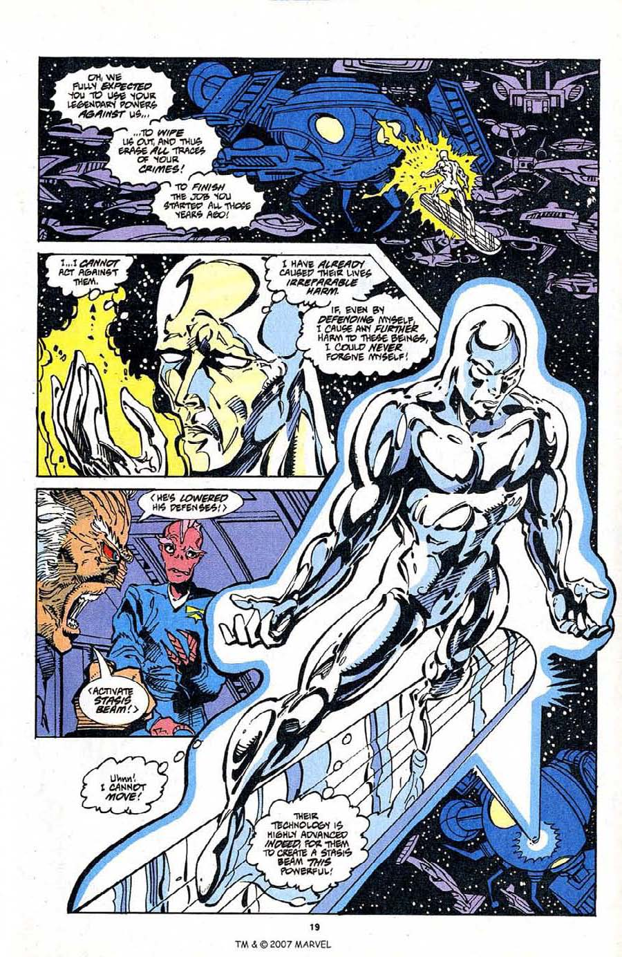 Silver Surfer (1987) Issue #103 #111 - English 21