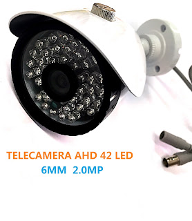 TELECAMERA AHD 2.0MP 6MM