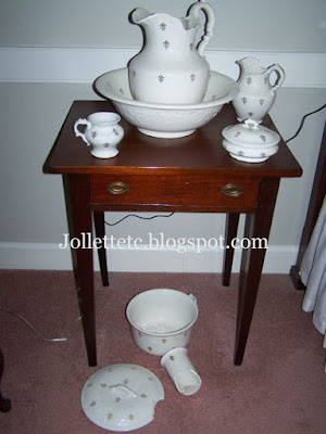 Washbowl Set https://jollettetc.blogspot.com