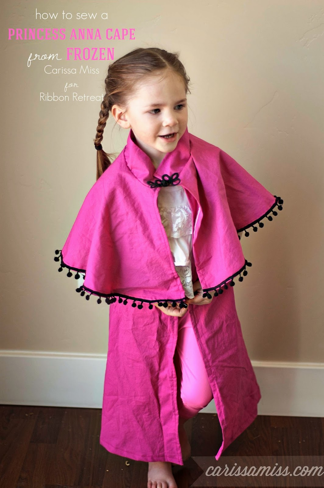 Carissa Miss: Anna Cape Tutorial