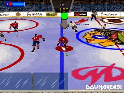 Wayne Gretzkys 3D Hockey PSX Game