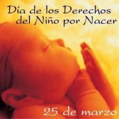 día del niño por nacer