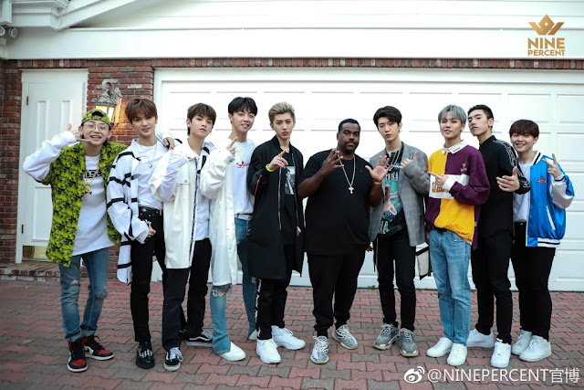 Nine Percent first group pic
