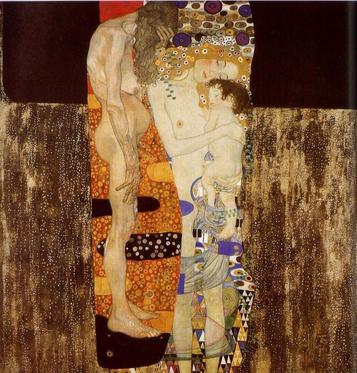 Климт «Три возраста женщины»