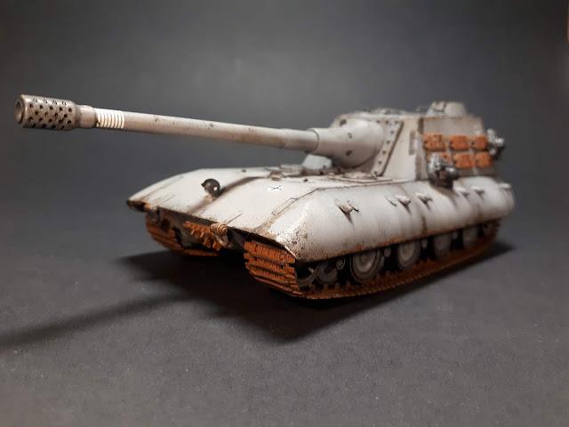 Jagdpanzer e100 in 1-72,1/72