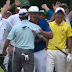 Bryson DeChambeau hits hole-in-one at Masters