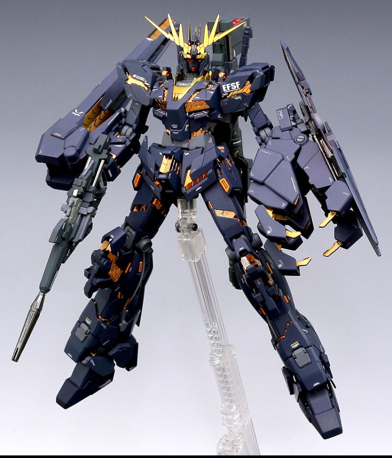 GUNDAM GUY: MG 1/100 RX-0 Unicorn Gundam Banshee