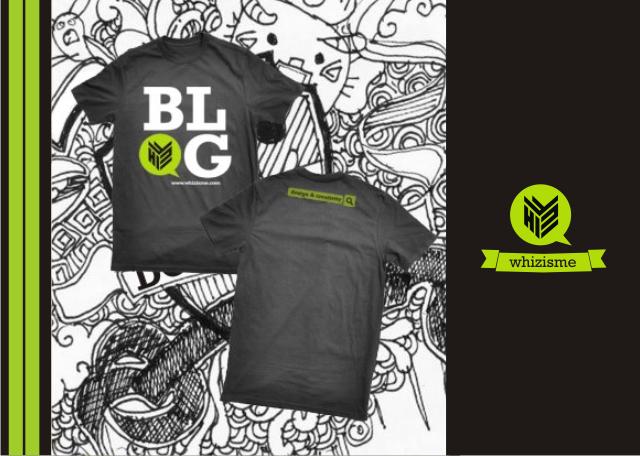 Kaos Blogger, Blogger T-Shirt