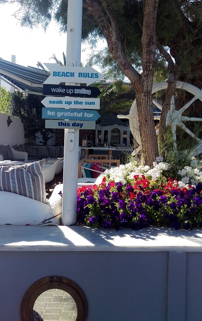 Phils Photographic Adventures Santorini Honeymoon 29th June Kamari Beach Day