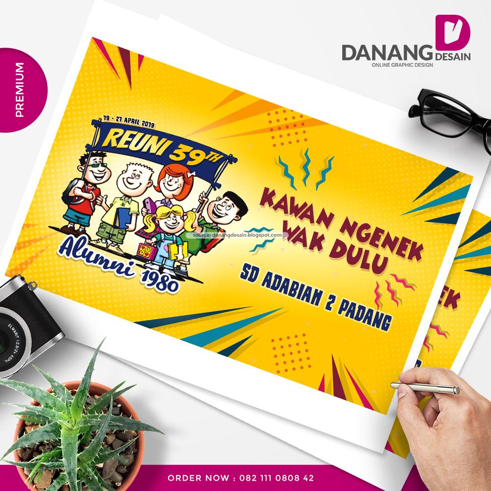 Contoh Desain Spanduk Banner Reuni Sekolah - Contoh Desain ...