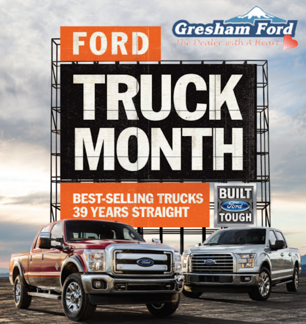 Ford Truck Month at Gresham Ford