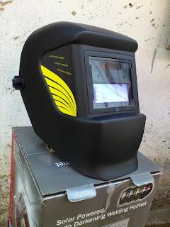 Hình ảnh mặt nạ hàn cảm biến điện tử Auto welding Helmet YL200D