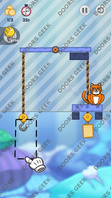 Hello Cats Level 161 Solution, Cheats, Walkthrough 3 Stars for Android and iOS