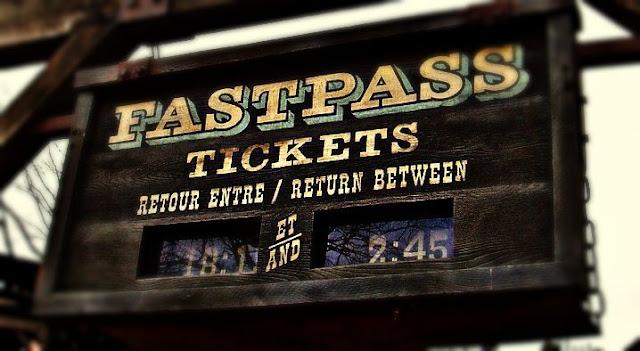 Fastpass para o Parque Disney California Adventure Park