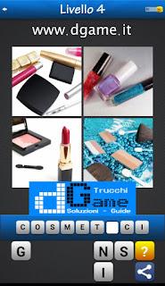 PACCHETTO 5 Soluzioni Trova la Parola - Foto Quiz con Immagini e Parole soluzione livello 4