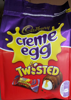 Cadbury creme egg twisted