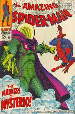 Amazing Spider-Man #66, Mysterio