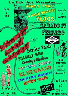 Honky Tonk Hardwood Floor
