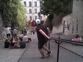 Montmartre Une descente parfois vertigineuse...