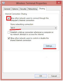 Sharing Koneksi Internet di Windows 8 dengan Hostednetwork