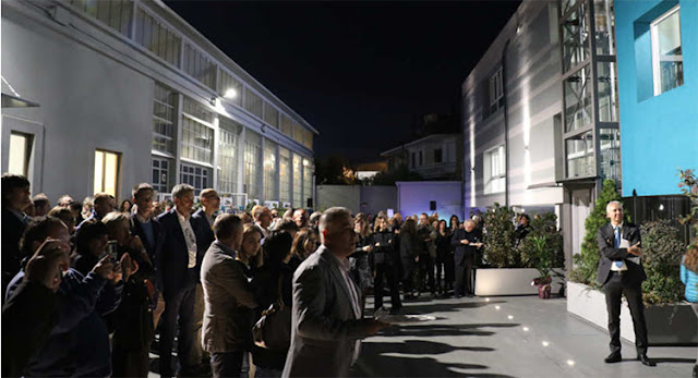 inaugurazione degli spazi dedicati ai nuovi Laboratori.