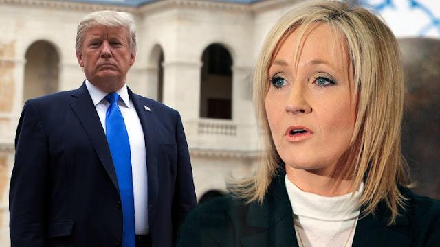 J.K. Rowling se disculpa por acusar erróneamente a Trump de ignorar a un niño discapacitado