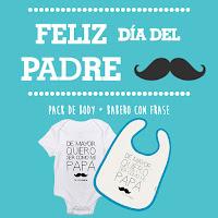 feliz dia del padre blog mimuselina ideas regalo body bebé y babero bebé frases papá