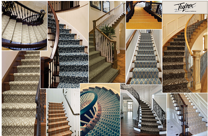 A wide variety of stair runners