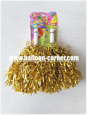 Cheerleading Pom Poms Stick / Tongkat Cheerleader Pom Pom