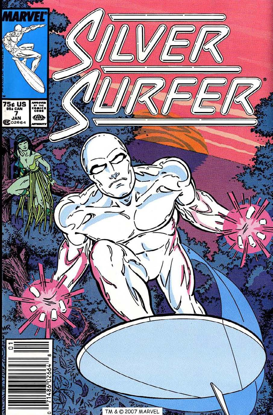 Silver Surfer (1987) issue 7 - Page 1