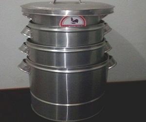 Dangdan Nasi 1 Set Bahan aluminium