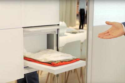 Πρωτότυπο πλυντήριο από την Panasonic με ρομποτικά χέρια διπλώνει τα καθαρά ρούχα και όχι μόνο